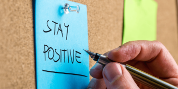 Ways to stay positive while job searching