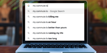 Googling my commute is killing me.