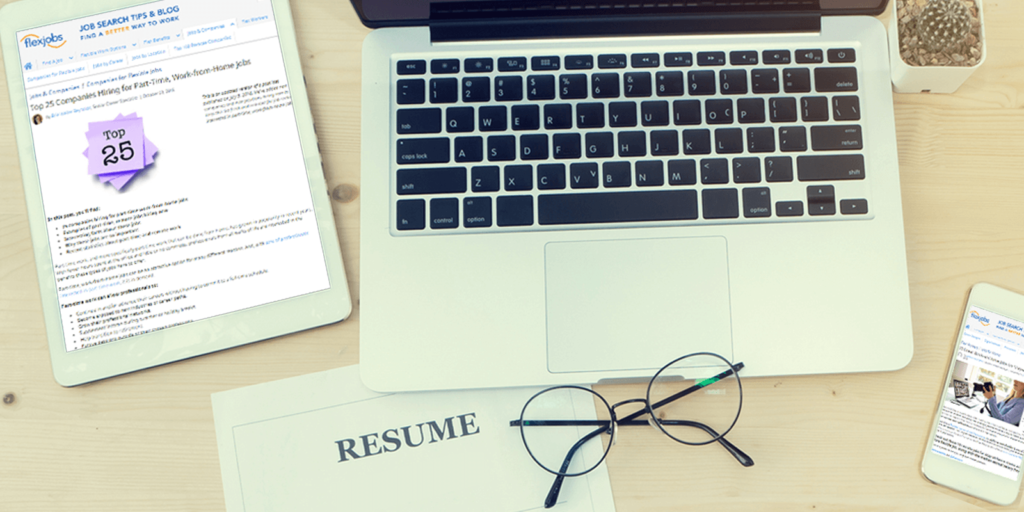 Most-read job search articles on FlexJobs in 2018