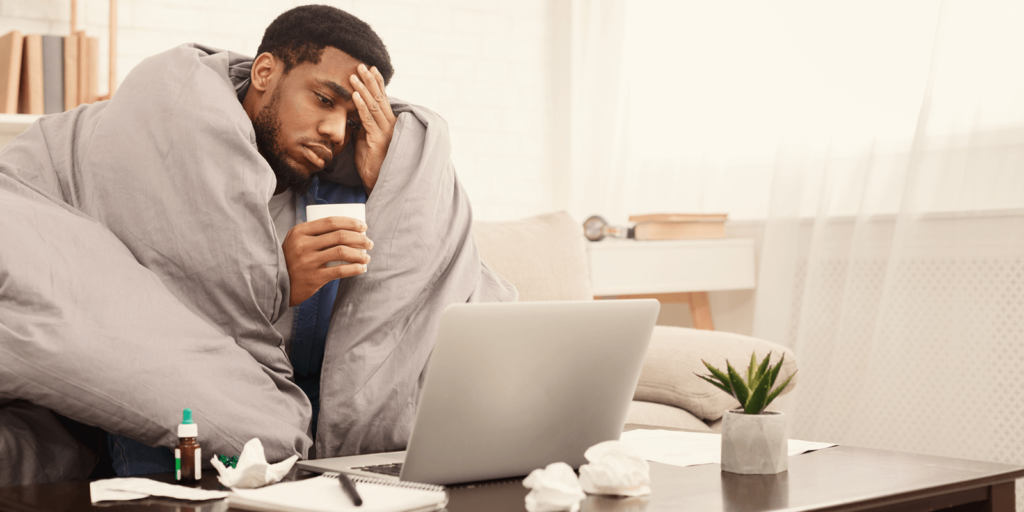 Why you shouldn't work when you're sick