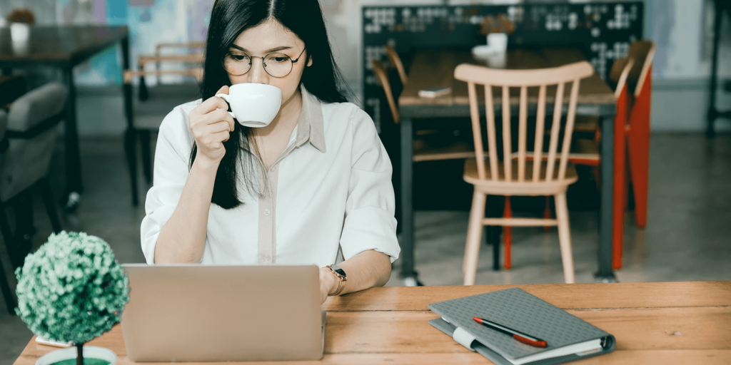 How to work remotely from a coffee shop