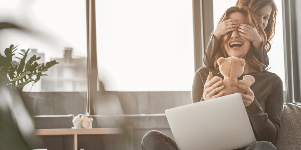 How remote work helps stressed parents