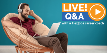 YouTube Live Q&A: A FlexJobs Career Coach Answers Your Questions!