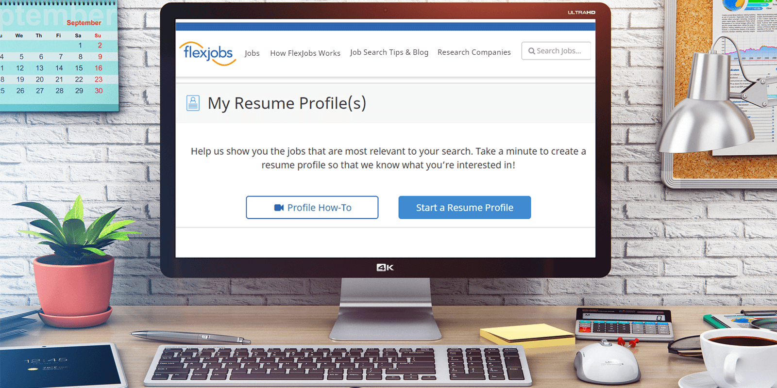 how to create a flexjobs resume profile  video