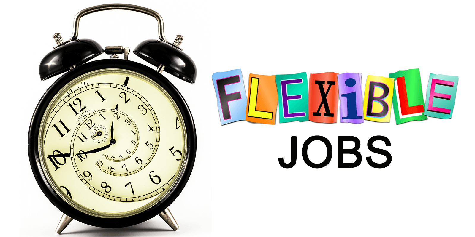 types of flexible work arrangements  and career examples