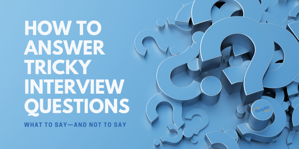 Tricky Interview Questions and Answers