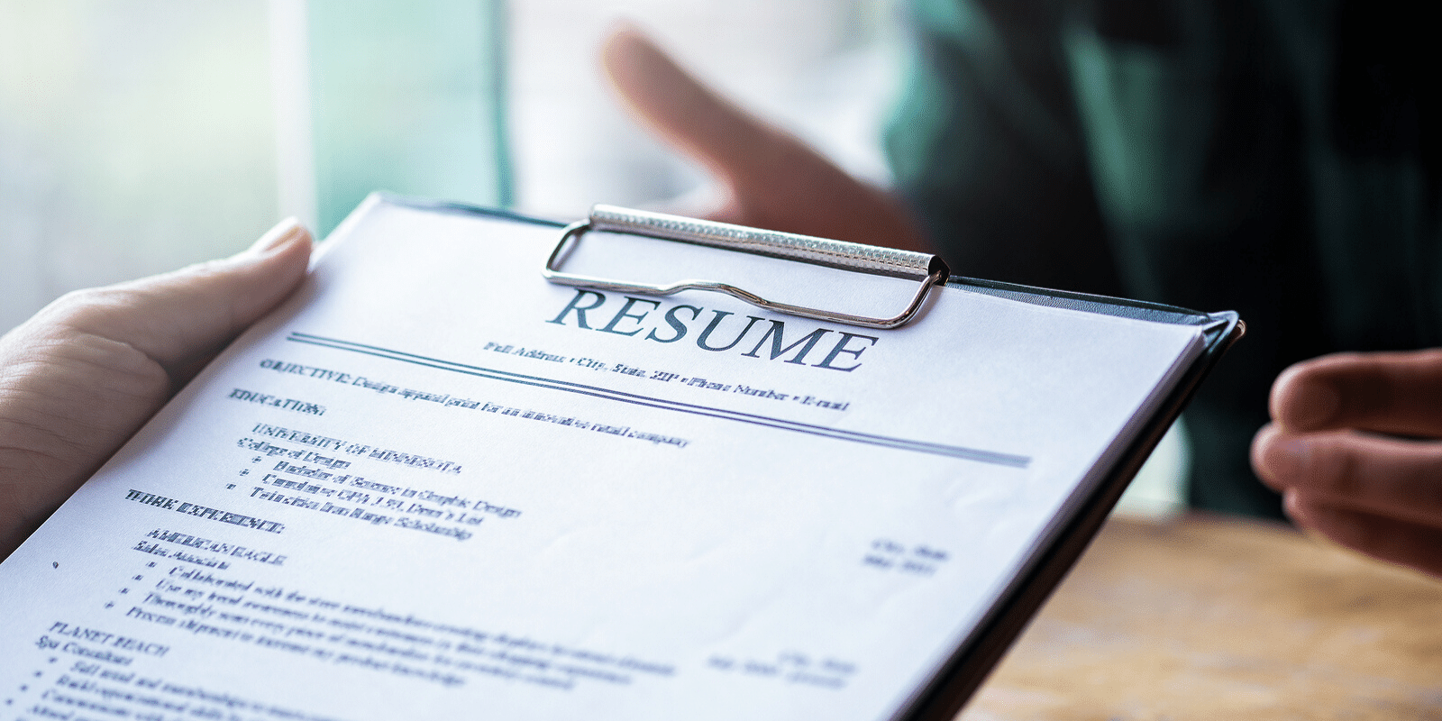 functional vs  chronological resume  differences