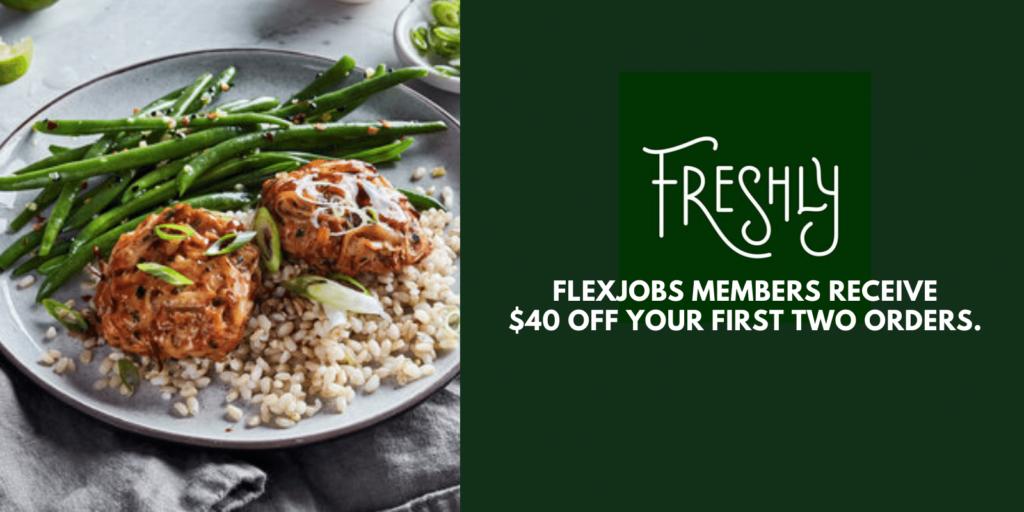 Get Healthy Meals Delivered to Your Door with Freshly