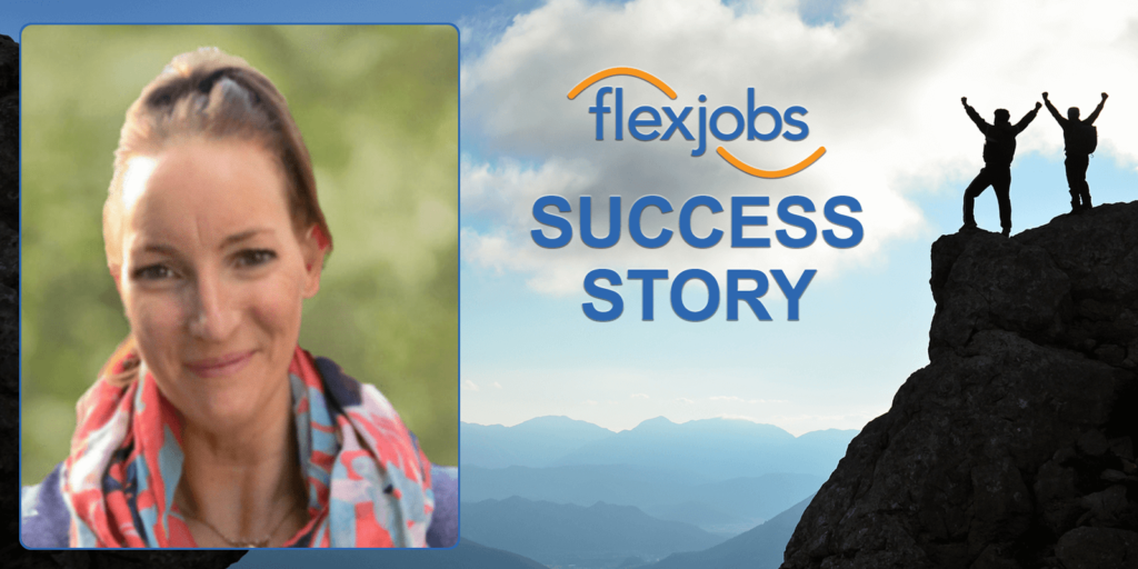 Woman Returns to FlexJobs, Finds Success Again
