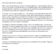 A sample cover letter for an older job seeker