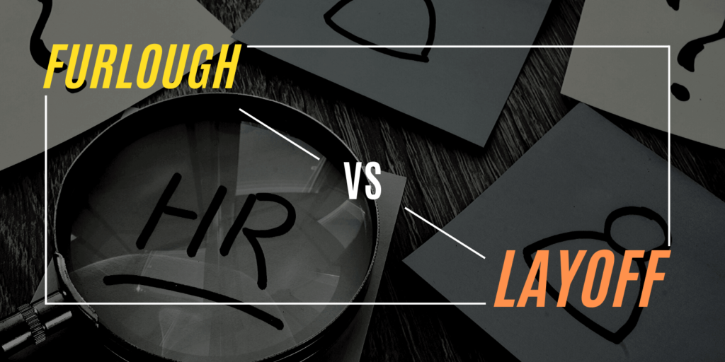 differences between furlough vs layoff
