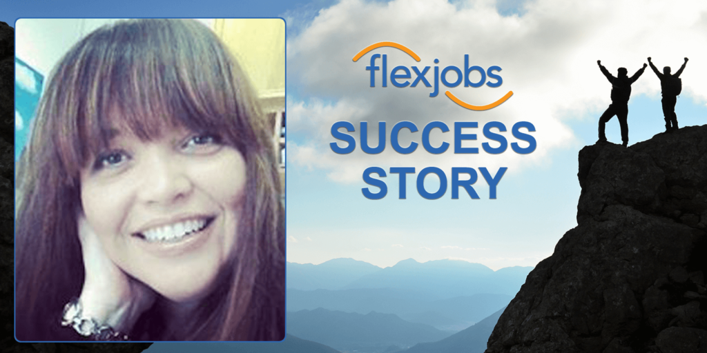 flexjobs membership provides RVer with work from anywhere job