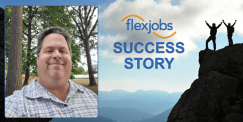 Man Rejoins FlexJobs, Lands Remote Job After Temporary Search for In-Office Position