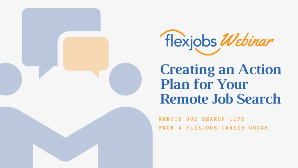 webinar recording remote job search plan