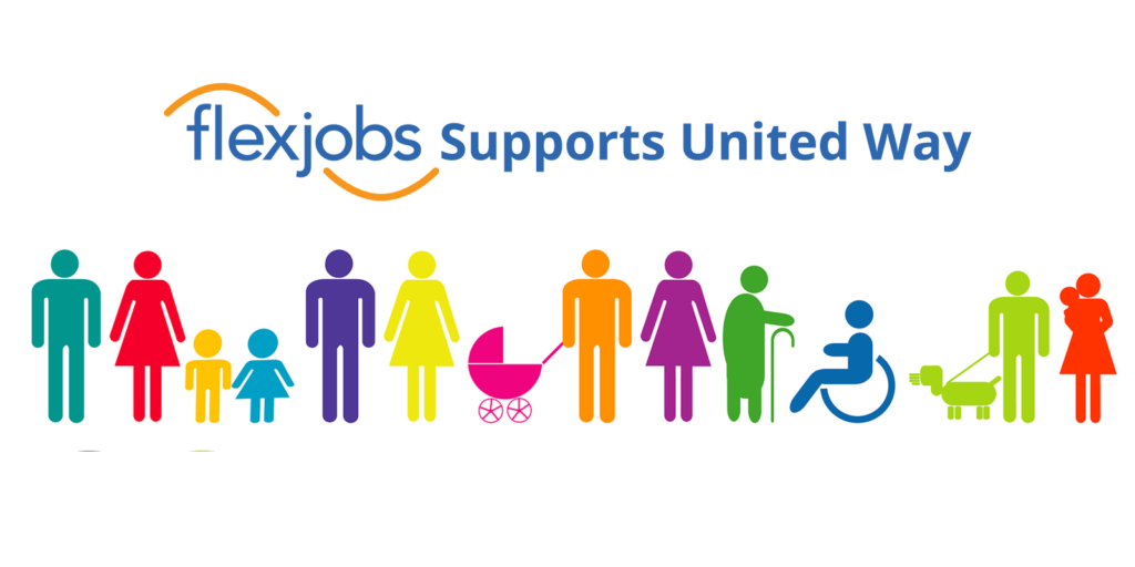 FlexJobs Donates to United Way