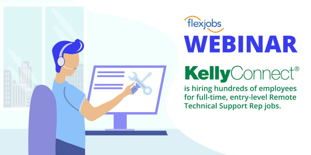kellyconnect hiring technical support reps webinar