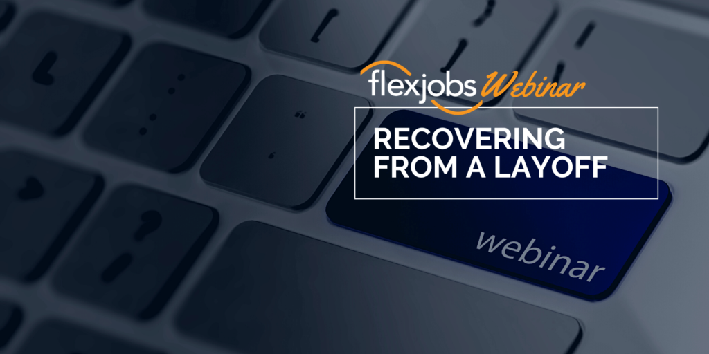recovering from layoff webinar recording