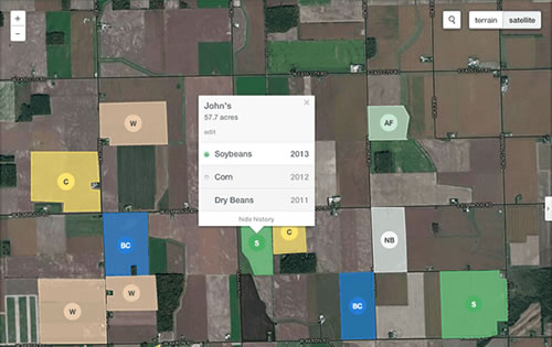 Free farm mapping software