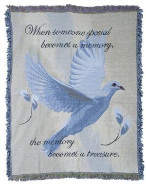 Dove Comfort Tapestry Throws