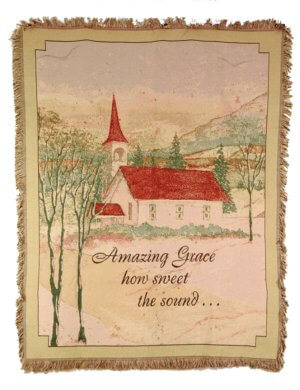 Amazing Grace Comfort Tapestry Throws