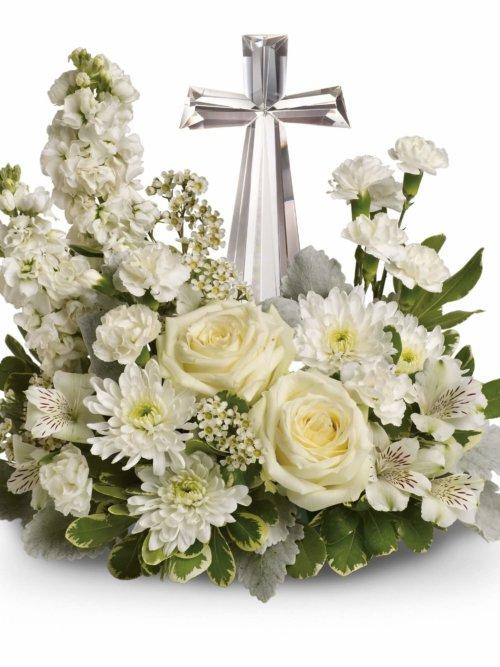 Divine Peace Bouquet Funeral Flowers