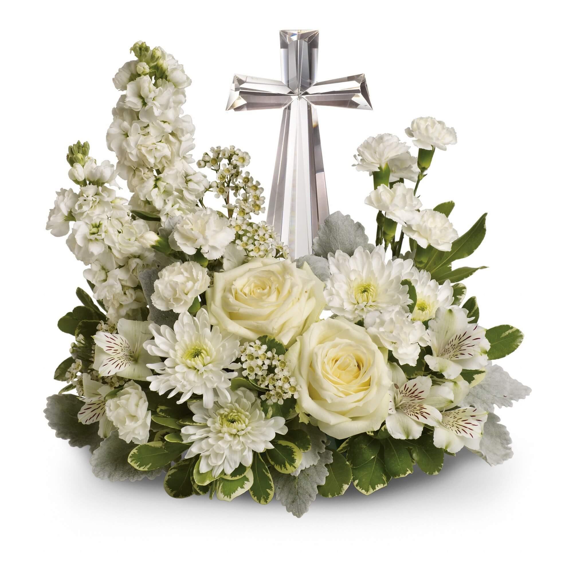 Divine peace bouquet flanner buchanan divine peace bouquet funeral flowers izmirmasajfo