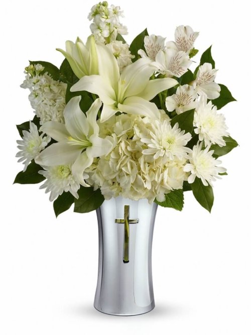 Shining Spirit Bouquet Funeral Flowers