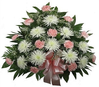 Timeless Sympathy Pink Funeral Flowers