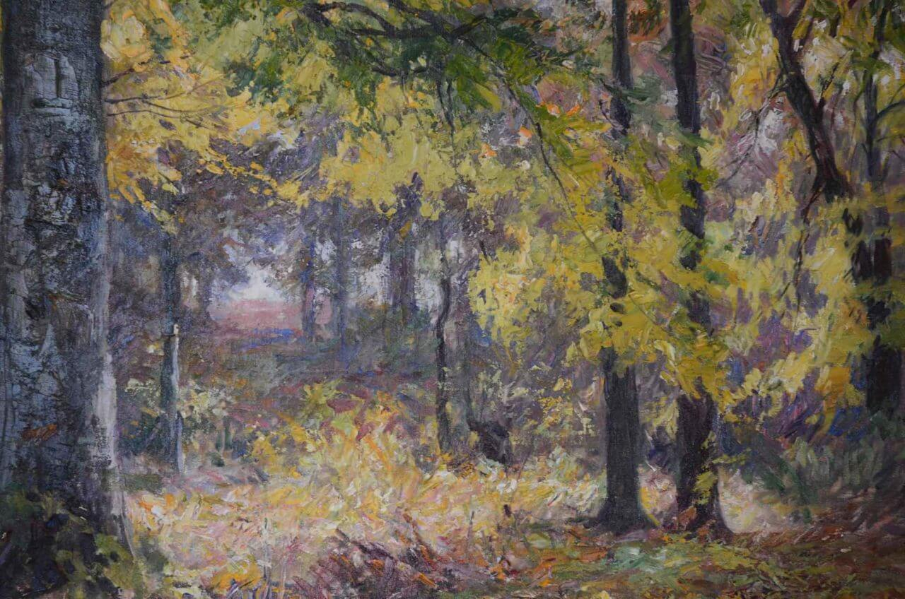 Will Vawter - Autumn in Brown County