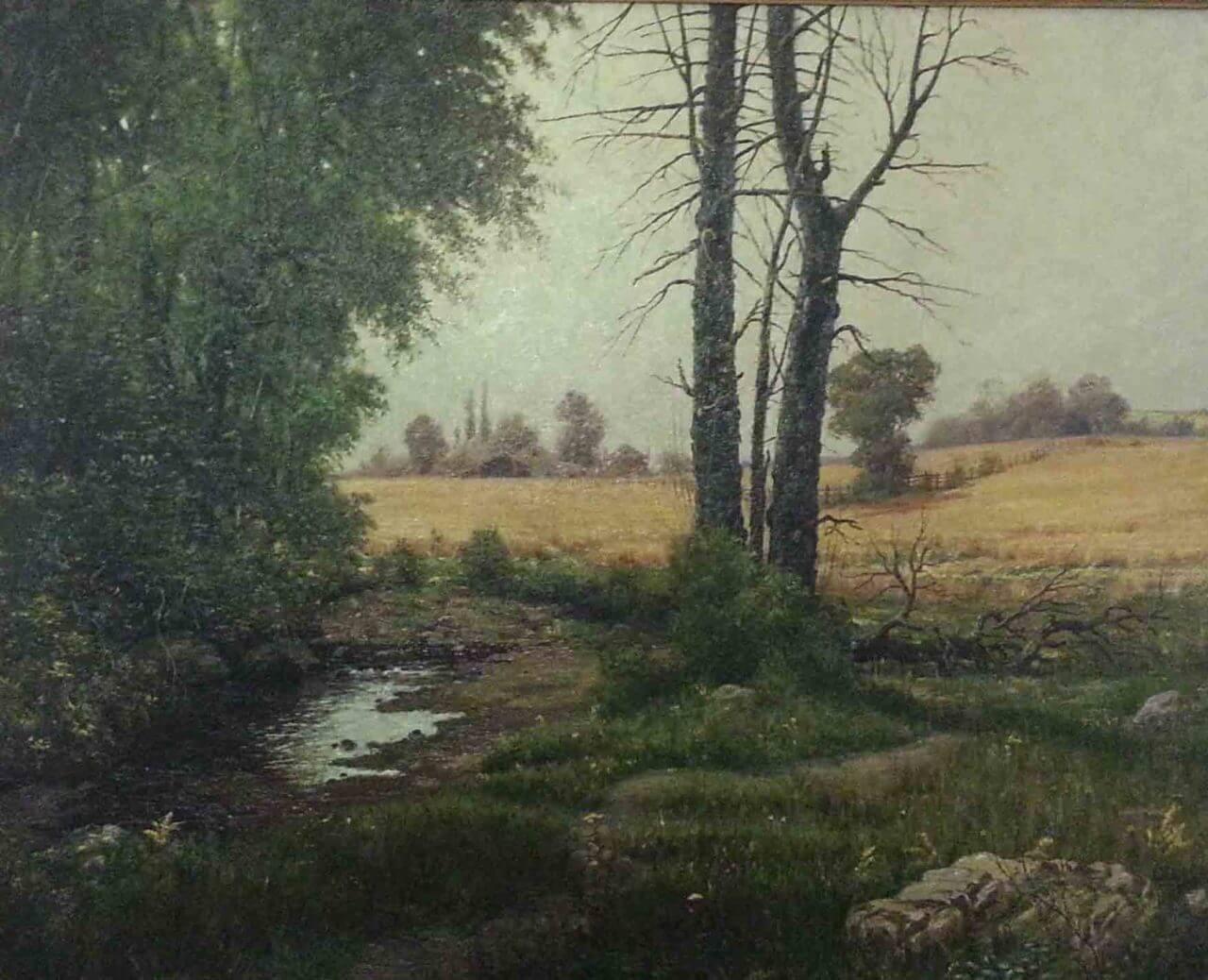 Fournier - Woodland with Stream
