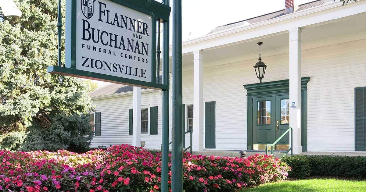 Zionsville - Flanner Buchanan Indianapolis Funeral Homes