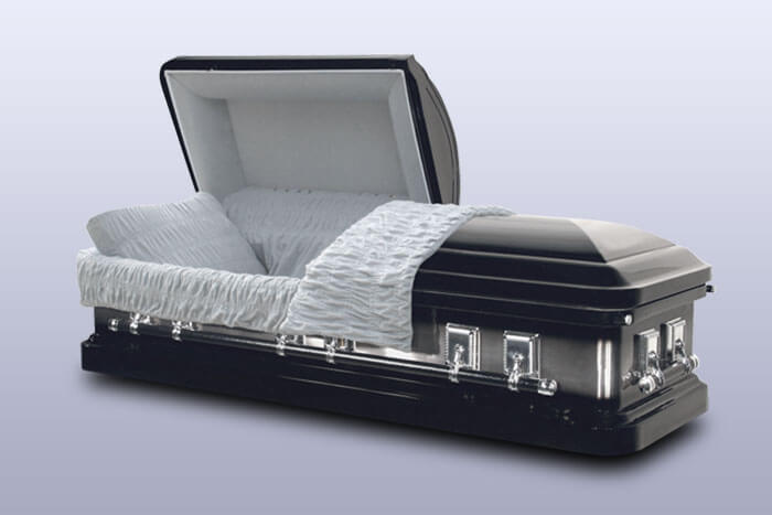 Metal 18 Gauge Casket Options