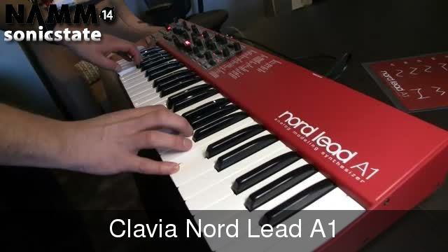 NAMM 2014: Nord Lead A1 - First look