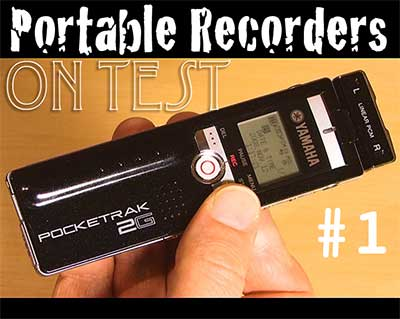 Portable recorder review yamaha pocketrak 2g - Porta poster amazon ...