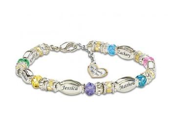 Grandma Birthstone Bracelet - Magazine cover