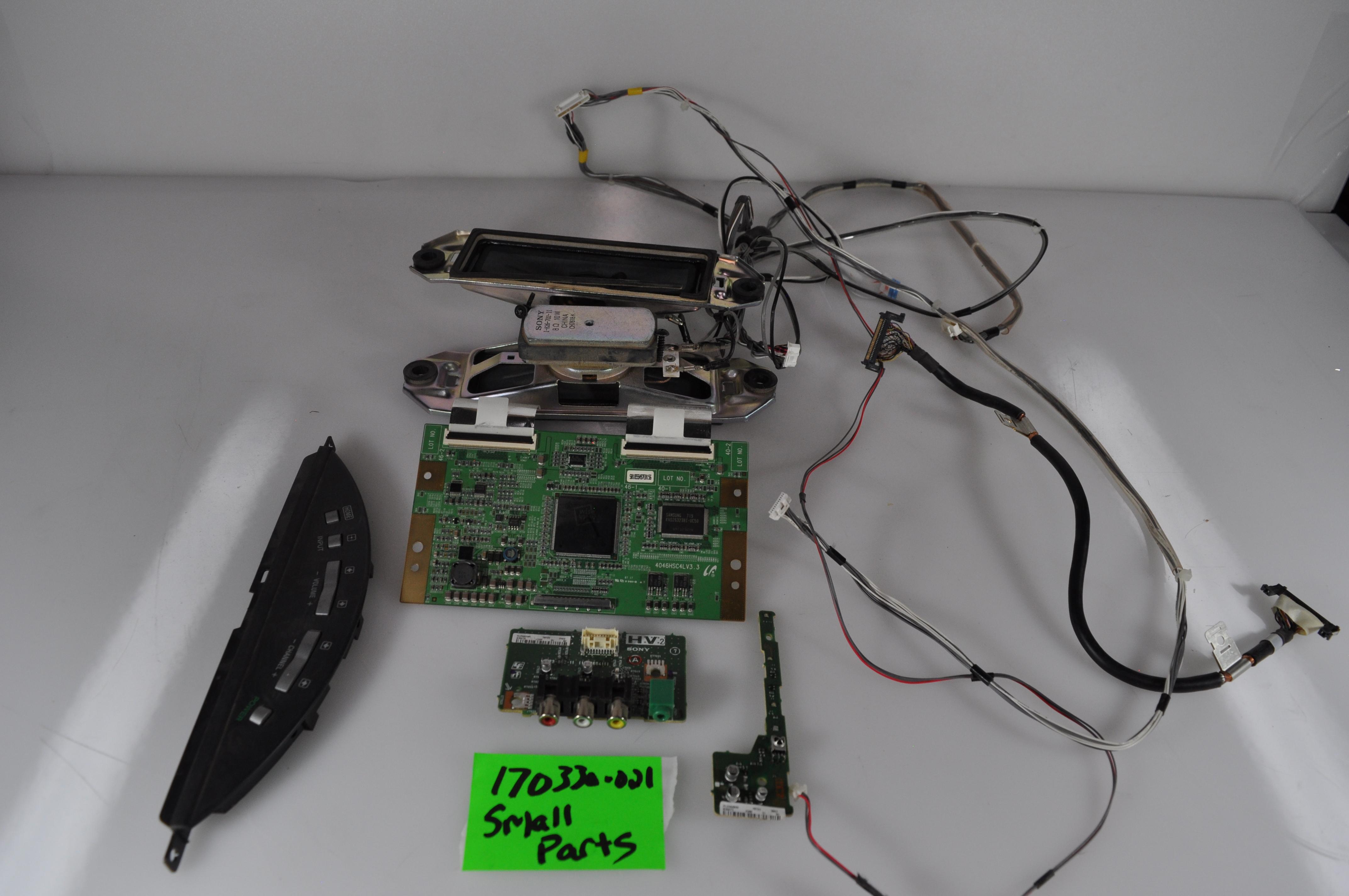 SONY KDL-46V3000 Small Parts Repair Kit SPEAKERS