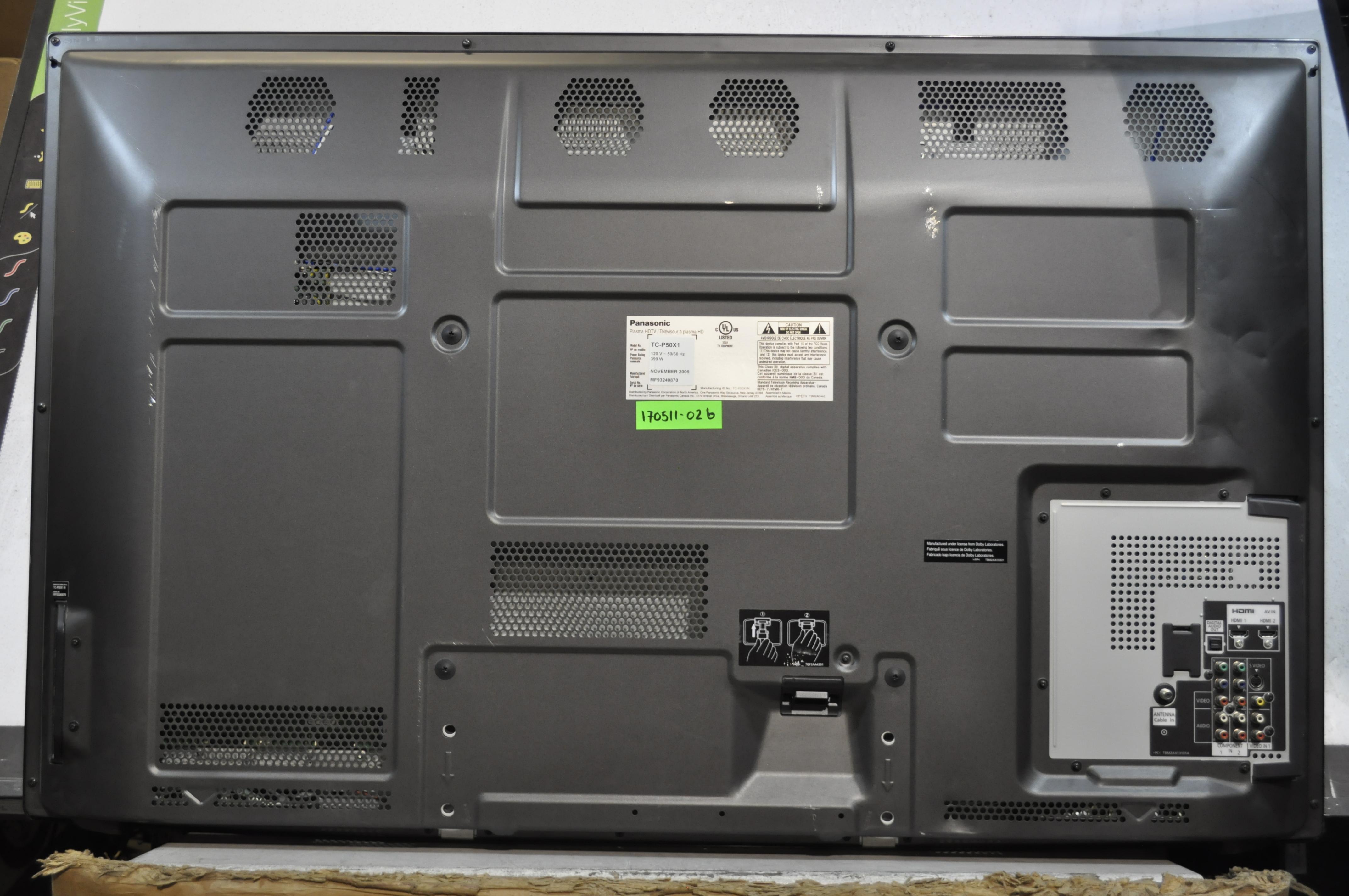 Panasonic Tc C2  C3 Buffer Set Tnpa4894 Tnpa4895