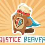 Justice Beaver Logo