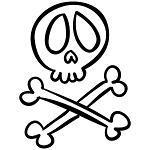 Skull & Crossbones Logo
