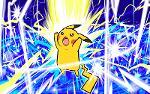 Pikachu Thunder Logo