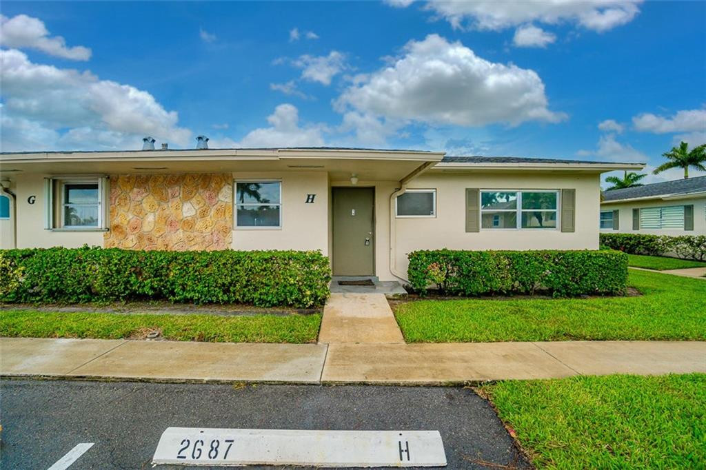 2687 Emory Drive, H, West Palm Beach, FL 33415
