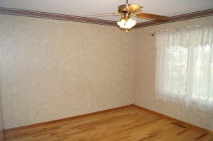 Additional formal dining, office or living area