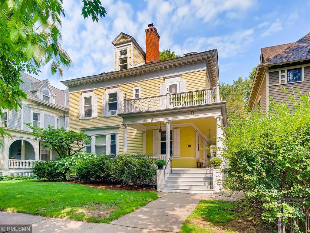 You'll love living in this converted mansion, a wonderful neighborhood close to everything!