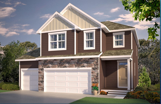 A simply stunning representation of new home architecture, all tucked into a smartly designed one-level layout that is every bit as impressive on the inside as out!
