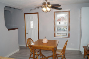 Informal dining area, new interior paint throughout