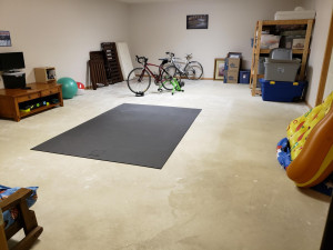 19 x 30 Multi-purpose room finished without flooring