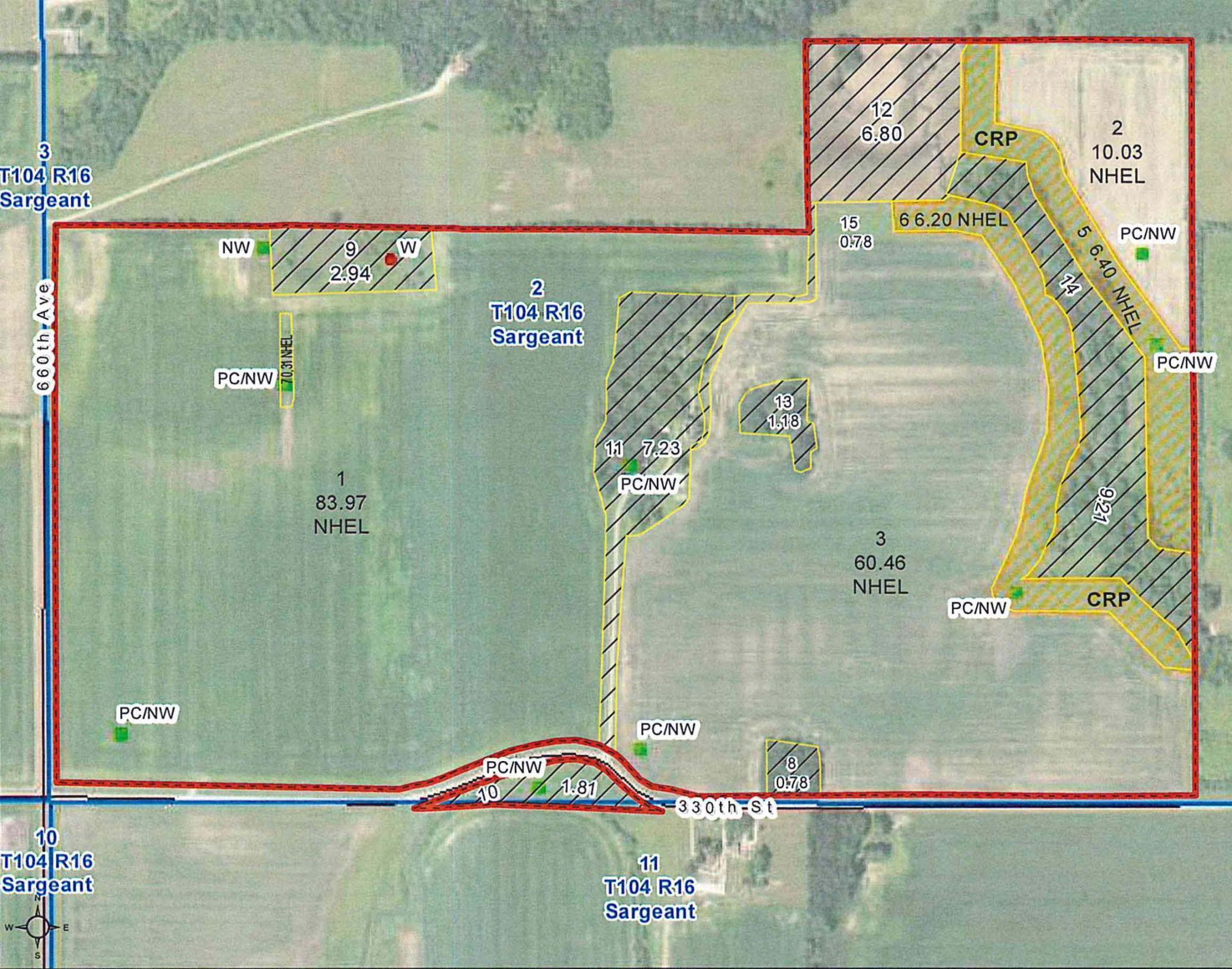 TBD 330th Street, Sargeant, MN 55973