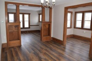 Dining Room to Living Room and Bonus Room