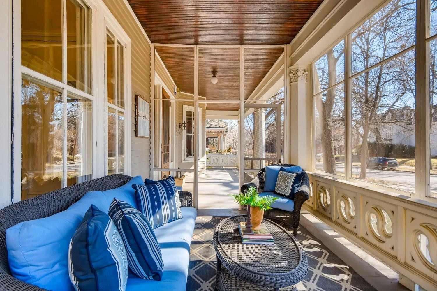 Ready to enjoy Spring from your private screened in porch?