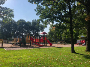 City park includes playground area, picnic area, youth ball fields, hockey rink and more.